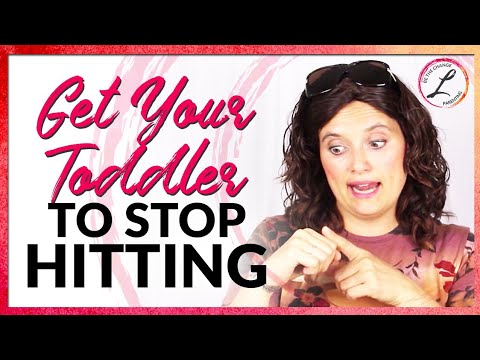 Toddler Discipline: Getting Your Toddler to Stop Hitting Once and For All!