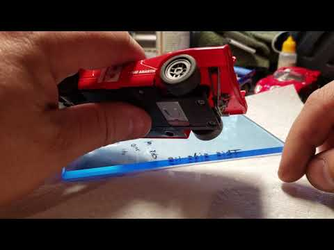 New Nonnoslot Fiat Abarth 1/32 slot car. Review and details.