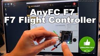 ✔ ANYFC F7 - Первый Полетный Контроллер на Процессоре F7! ( STM32F745). Banggood