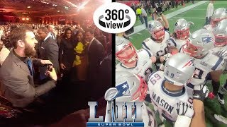 Super Bowl LIII Week All-Access in 360º: Media Night, Honors, & More!