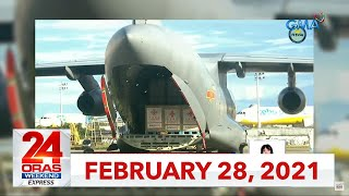 24 Oras Weekend Express: February 28, 2021 [HD]