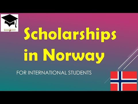 Scholarships in Norway for International Students