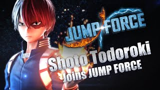JUMP FORCE –Official Shoto Todoroki Trailer