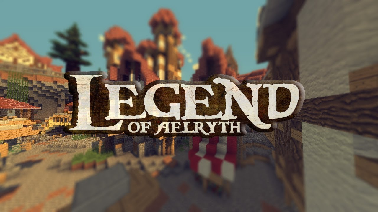 "EPIC MineCraft Server! - "" The Legend of Aelryth ..."
