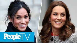 Exclusive Look Inside Meghan Markle And Kate Middleton's Growing Friendship | PeopleTV