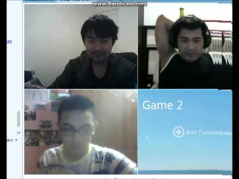 QQ Webcam Chat Session During QQ Speed Border