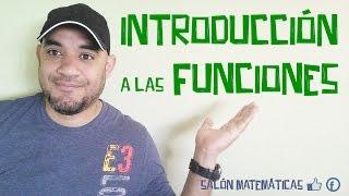 Funciones Introducción - Tutor Matemáticas