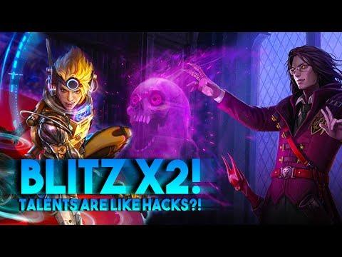 Vainglory Blitz Gameplay • TALENTS ARE LIKE HACKS?! Samuel/Vox