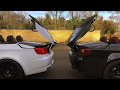 BMW E93 M3 Convertible - Transformer - Remote roof operation demonstration