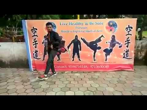540 kick/worldwide kick/tutorial/kick like tiger/easy trick / learn / undisputed/Pramod
