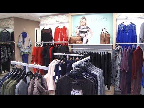 10c14fcdc70 Кадры из видео За праздничным образом - в салон женской одежды Runuma