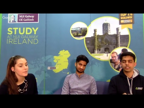 NUI Galway Prospective International Students Live Q&A 2018