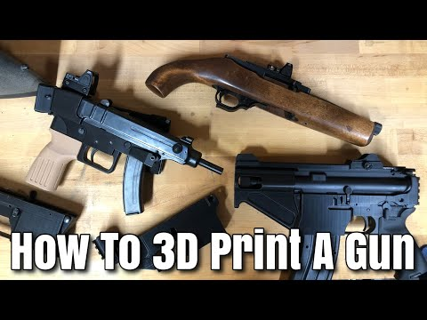 How to 3D Print a Gun - Q&A And Information