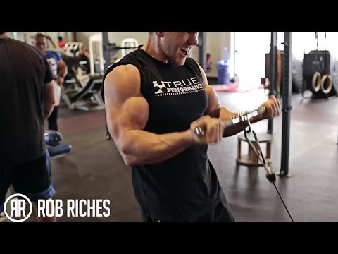 BICEP Curls & Cables Rob Riches