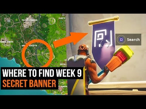 Fortnite - How to get the secret week  banner