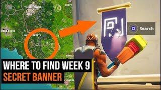 Fortnite - Wie man die geheime Woche 9 Banner zu bekommen