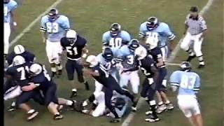 1999 Southwest Georgia Academy Warriors at Mount de Sales Cavaliers (football)