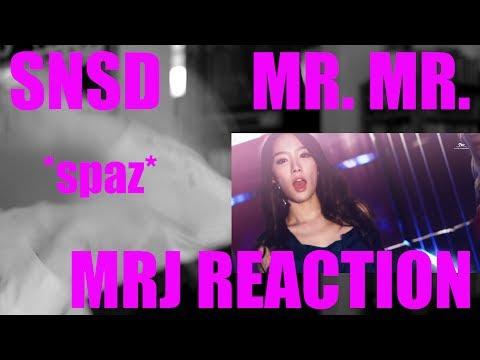 Girls' Generation ( 소녀시대 ) Mr.Mr. REACTION - MRJKPOP [MRJ]