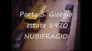 Porto San Giorgio 1970 Nubifragio