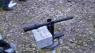 Cañon Casero R-15 (Homemade Cannon) Dispara Canicas de 25mm Hecho en Monterrey por ex EIAO [2]