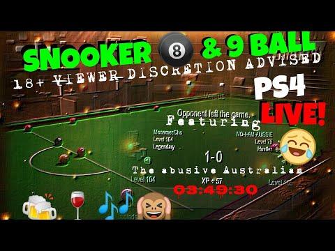 MenamesCho's Live Ps4 - Pool & Snooker 18+ Stream - 16th Feb 2018 - UK