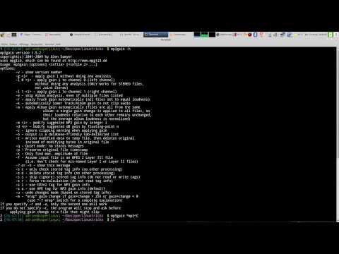 mp3gain : un logiciel pour égaliser le son de vos mp3 !