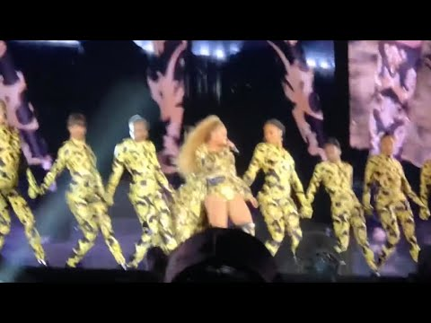 "Apeshit Live - Beyonce & Jay Z ""The Carters"""" - On The Run 2 Tour - Chicago Soldier Field"