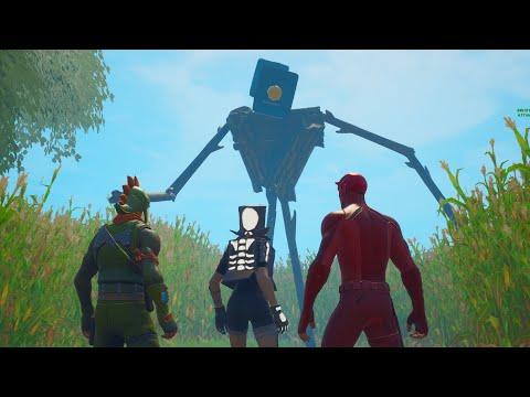 Fortnite Roleplay SIRENHEAD! #2 (A Fortnite Short Film)
