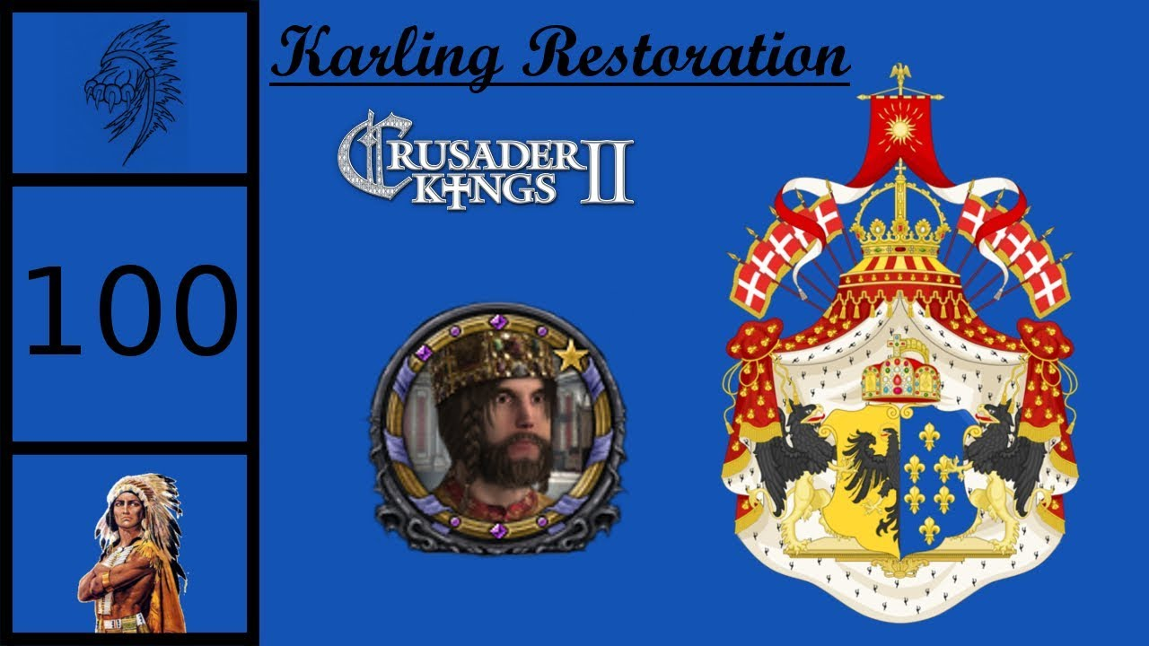 CK2 Plus - Emperor Alphonse Karling #100 - New Succession Law?