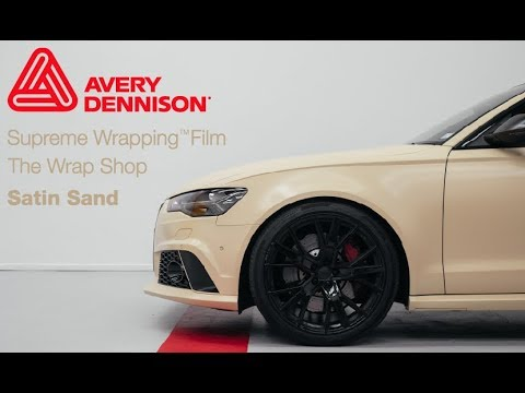 Exclusive Vinyl The Wrap Shop Satin Sand Avery
