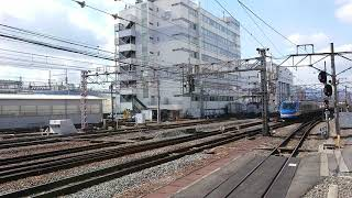 HOT7000系特急スーパーはくと4号(5B)54D  京都駅到着
