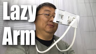 Lazy Arm Flexible Neck Phone Holder Review