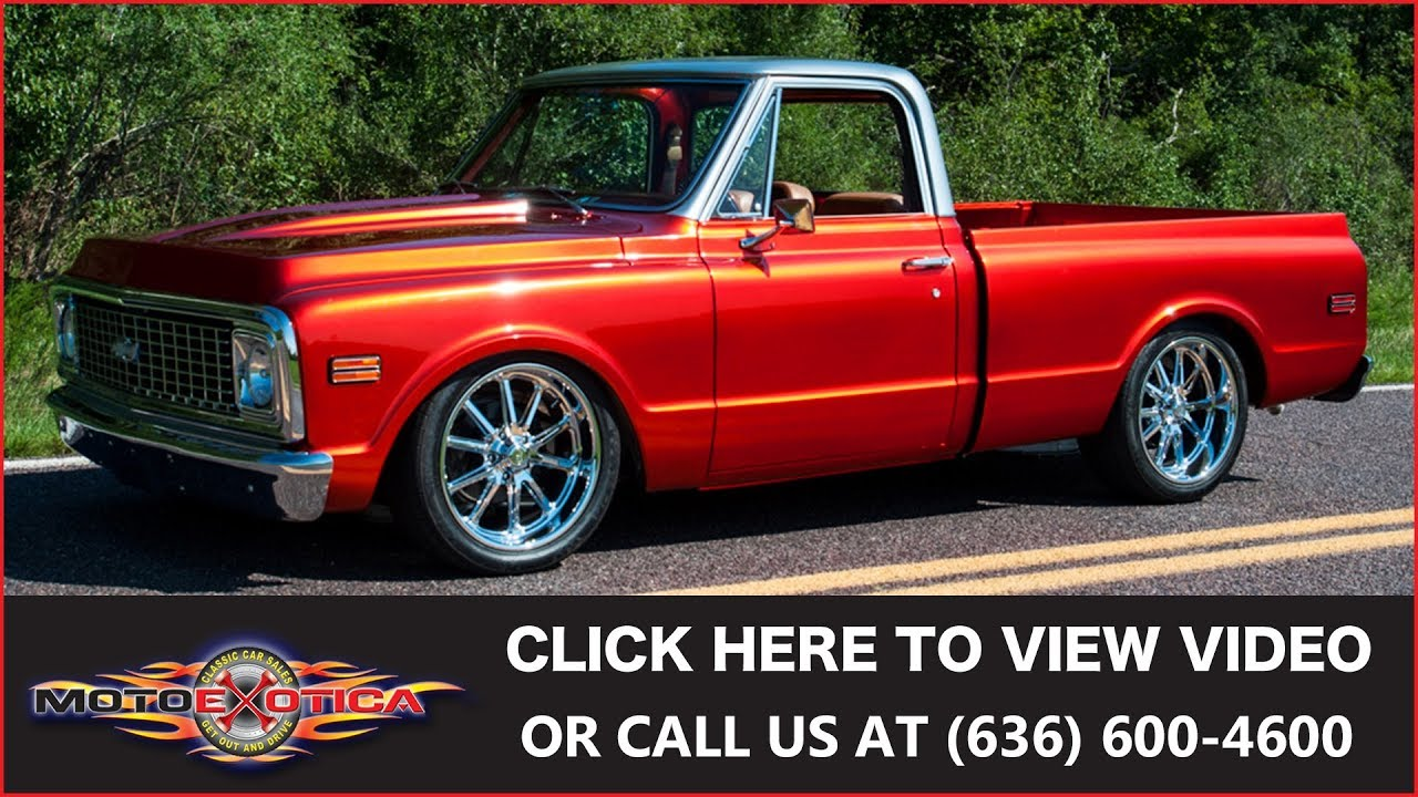 1972 Chevrolet C10 Restomod || SOLD