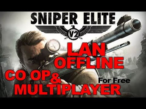 Sniper Elite V2 Complete Pack All DLCs Offline LAN Co Op And Multiplayer For Free Tutorial