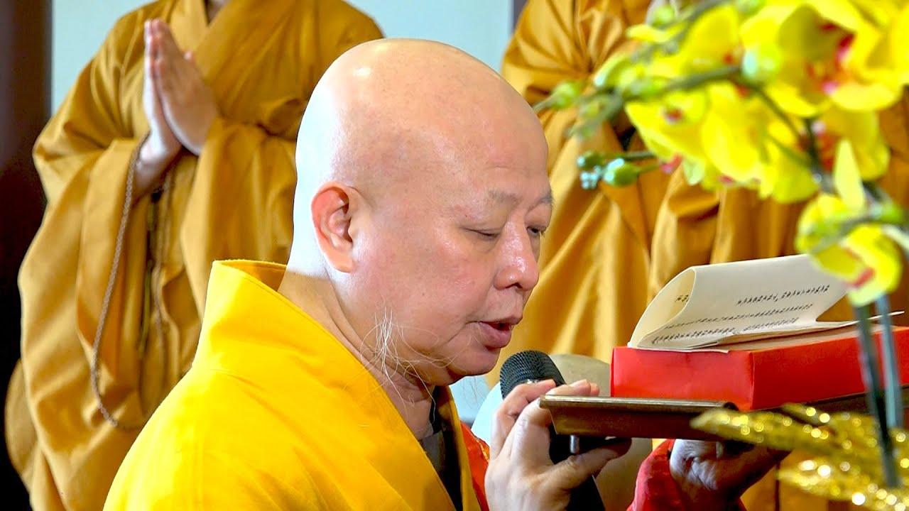 Lễ Bách Nhật Trai Tuần tại Chùa Định Thành - Q10