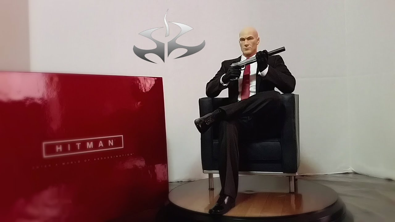 Hitman Collector's Edition (PS4) Unboxing - YouTube