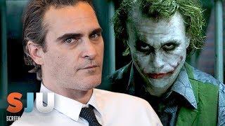 Joaquin Phoenix Isn't Afraid of Heath Ledger's Joker - SJU