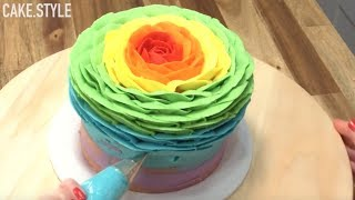 AMAZING RAINBOW CAKES & DESSERTS - Satisfying