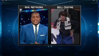 NHL Tonight:  Jeff Petry discusses his goal, Habs` win over Flames  Oct 23,  2018