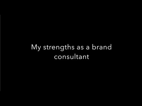 Sabra Brand Consulting – My strengths as a Brand Consultant