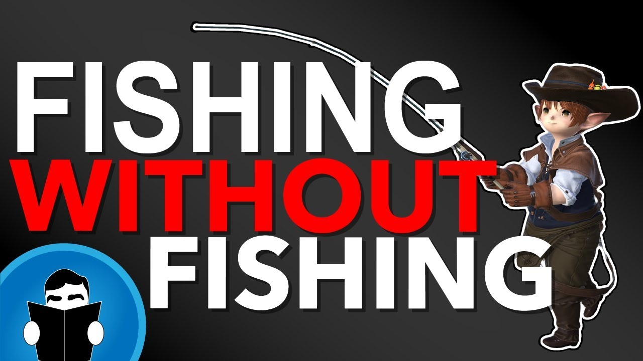 FFXIV Beginner fishing 70-80 under an hour without a single cast |  Shadowbringers leve guide