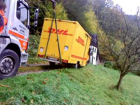 dhl fahrzeug iveco daily kofferaufbau youtube. Black Bedroom Furniture Sets. Home Design Ideas