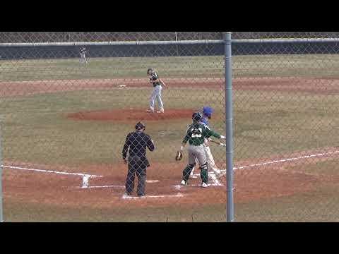 CCRI Baseball Highlights vs Northern Essex 3-23-18