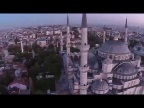 DJI Phantom flies into Blue Mosque, Istanbul, Turkey