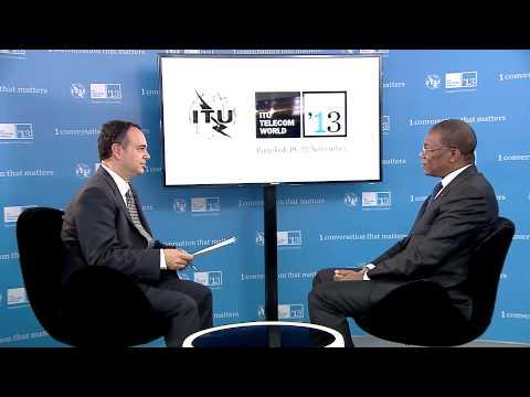 Bruno Nabagné Kone, Ministre, Poste et TIC, Côte d'Ivoire - Entretien, ITU Telecom World 2013