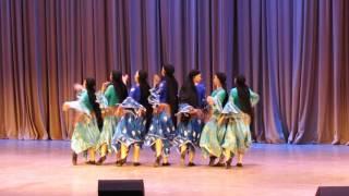 """""""Египетский танец"""", Калинка, 8 класс (Дагомыс)"""