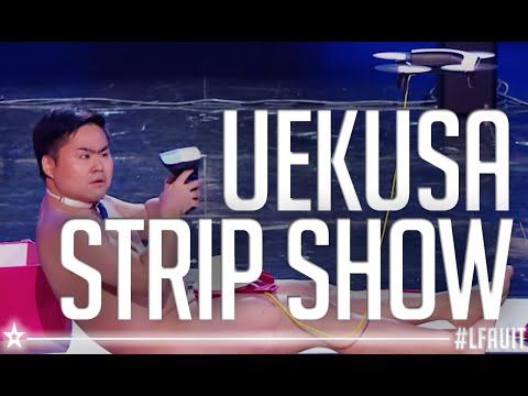 UEKUSA'S STRIP SHOW  | live final | France's got talent 2018