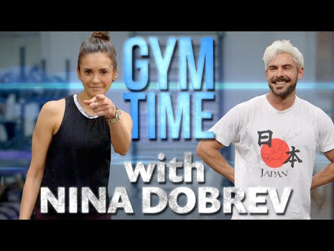 Savio On Air - Wanna watch a workout video with ZAC EFRON and NINA DOBREV?  I got you.