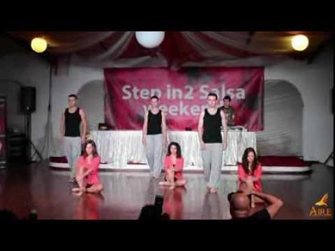 AIRE Dance Company presents 'Colgando En Tus Manos' - contemporary bachata choreography