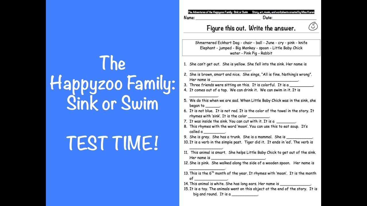 Happyzoo Family Test Sink Or Swim Id 101